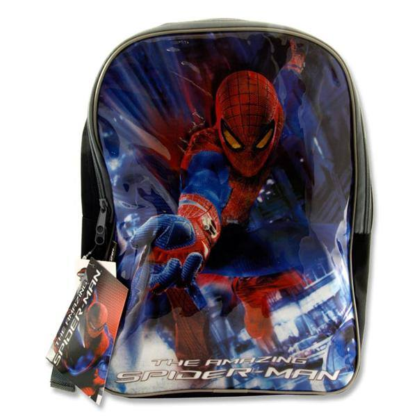 spiderman school bag