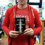 damian mitchell with book