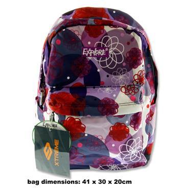 pinkpurple bag